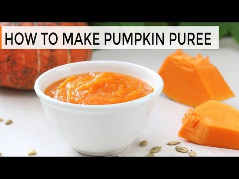 How-To Make Pumpkin Puree | DIY Pumpkin Puree