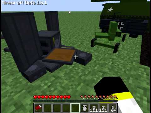 Caboose Jr-s Minecraft vehical mod :o