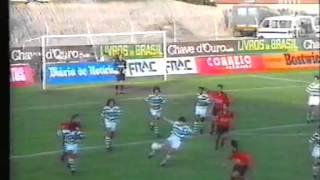 Penafiel - 0 Sporting - 2 de 1991/1992