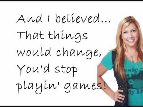 Jessica Tyler- Believe With Lyrics (As Heard On Degrassi)