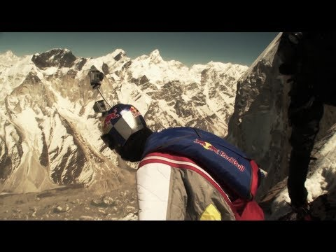 World Record BASE Jump - Red Bull Top Altitude 2012