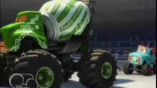 Cars Toons Monster Truck Mater Preview Trailer Youtube