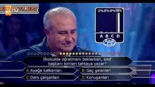 Kim milyoner olmak ister 230. bölüm 1. yarışmacı 03.06.2013
