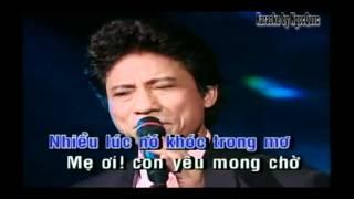 Nó Chế Linh karaoke ( dual )