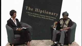 Professor El-Kati discusses his latest book The Hiptionary with Patricia Crumley Part 5- 8/2/2010