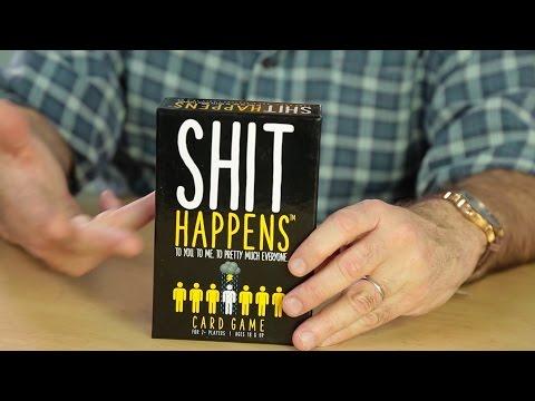 Shit Happens Card Game - UCoauOAin6gFMtNtAI5mCcHA