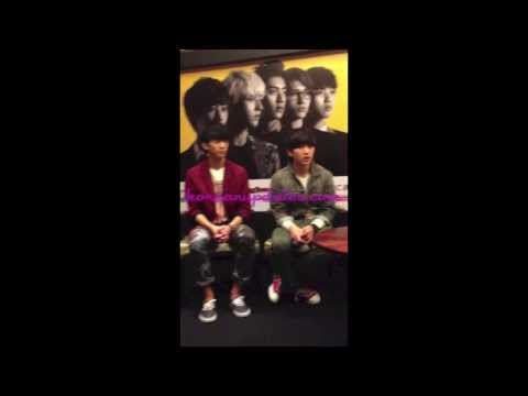 [KU EXCLUSIVE] Short Video of B1A4 Roundtable Interview in Jakarta