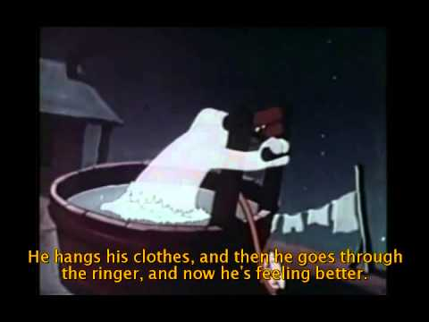 Okanagan language video, Casper the friendly ghost, English subtitles