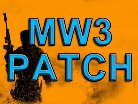MW3 New Patch Update (Modern Warfare 3)