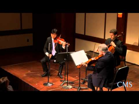 Beethoven - Trio in C minor Op. 9, No. 3, Mvt. 2 - The Chamber Music Society of Lincoln Center