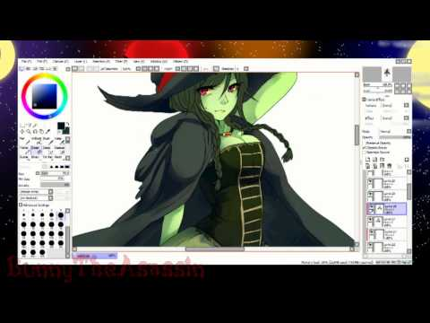 Malevolent Monsters [Halloween SpeedPaint]