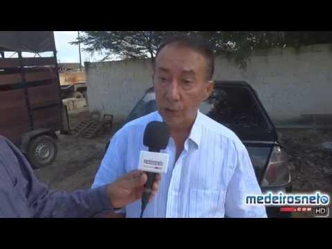 Prefeito Nilson Costa autoriza pavimentação da Av. Newton Paixão