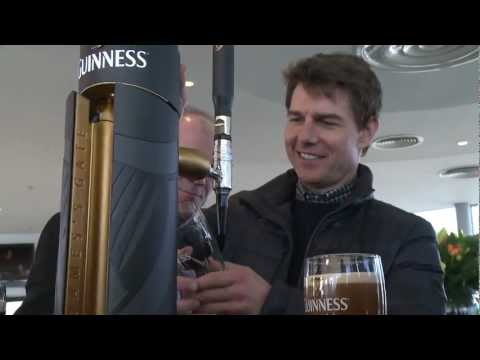 Tom Cruise discovers his Irish Heritage in Dublin