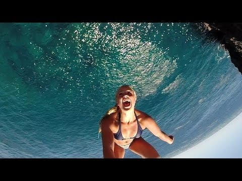 THE MOST AMAZING CLIFF DIVING VIDEO EVER!!!