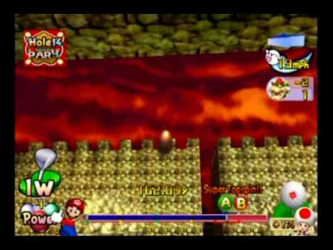 Mario Golf Toadstool Tour Bowser Star Championship - Back Nine