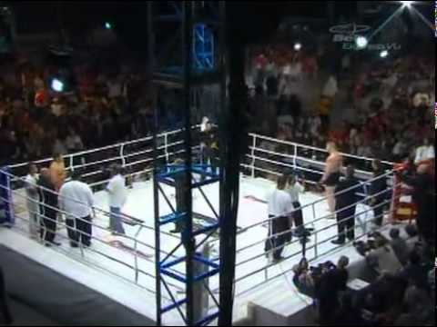 Dynamite!! USA - Brock Lesnar vs Min-Soo Kim - Full Fight