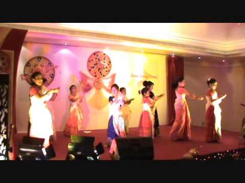 Assamese Dance by Muscat Children at Rongali Bihu-2010