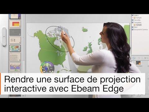 Tableau interactif mobile eBeam Edge : la mobilité à l'état pur
