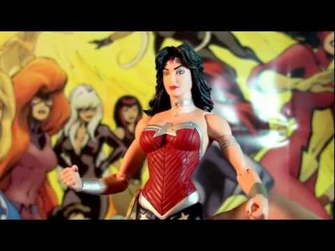 R234 DC Collectibles Justice League Wonder Woman New 52 Action Figure Review