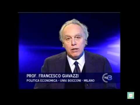 Francesco Giavazzi al Tg3 - Crisi economica e riforme - 7 gennaio 2011