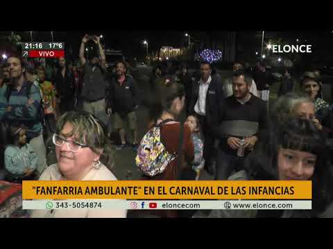 Fanfarria Ambulante en el Carnaval de las Infancias