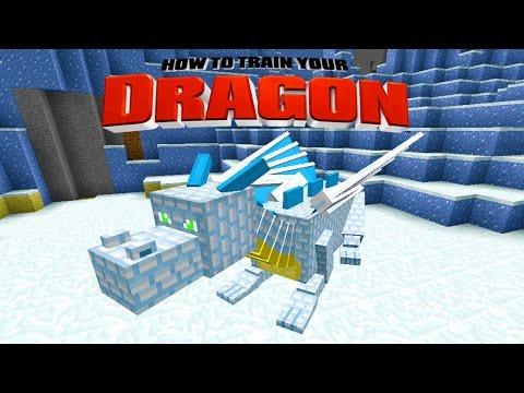 Minecraft - HOW TO TRAIN YOUR DRAGON - Fat Casper The Ghost Dragon! [24]