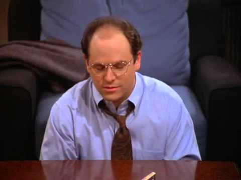 Seinfeld - George Costanza ponders about potential jobs / careers