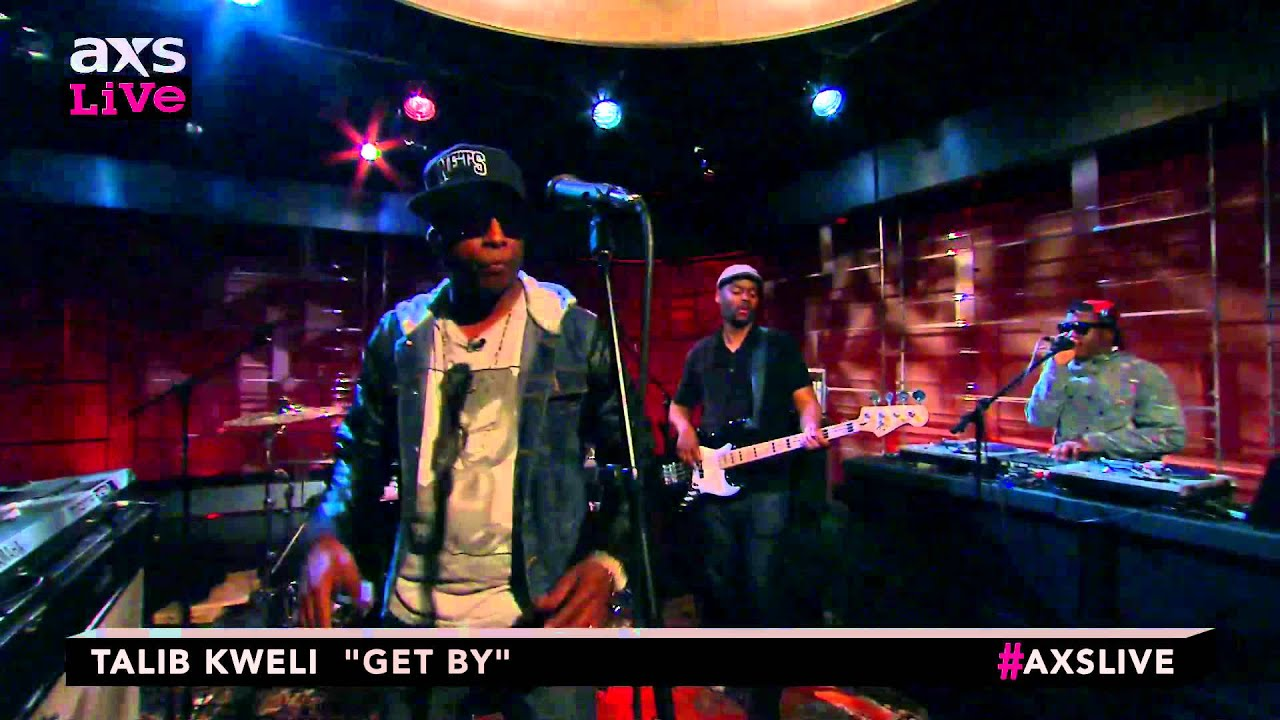 "Talib Kweli Performs ""Get By"" on AXS Live"