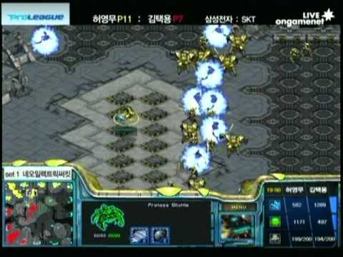 SPL [3.3] Jangbi (Samsung) vs Bisu (SKT) 1set / Neo Electric Circuit