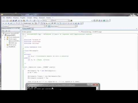 Video Corso Visual C++ ITA - 5