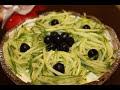 """Фрагмент с конца видео Салат """"Каприз"""".Очень вкусный салат к праздничному столу за 5 минут!"""