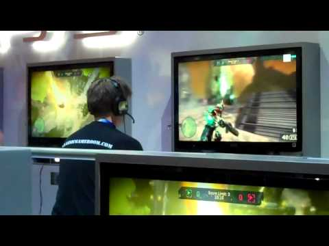 CGR E3 2011 Adventure Pt27: STARHAWK PS3 gameplay from CGR