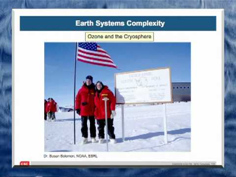 Dr. Conrad C. Lautenbacher, Ph.D. - Global Earth Observation and Climate Change