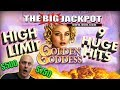 HUGE $500 / $750 BETS  ✦ Private Patreon Play 🌹9 JACKPOTS on GOLDEN GODDESS! 😄