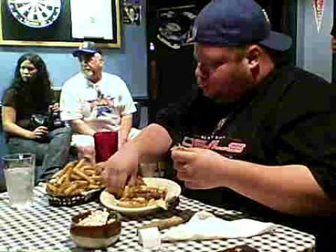 Eating Challenge Fail