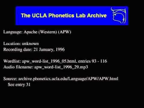 Western Apache audio: apw_word-list_1996_29