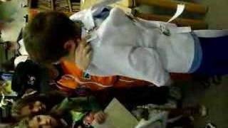 kid escapes from straight jacket - YouTube