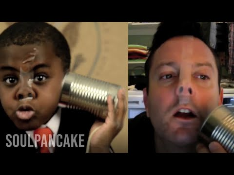 Kid President & Thomas Lennon Fix Global Sadness (YouTube Comedy Week)