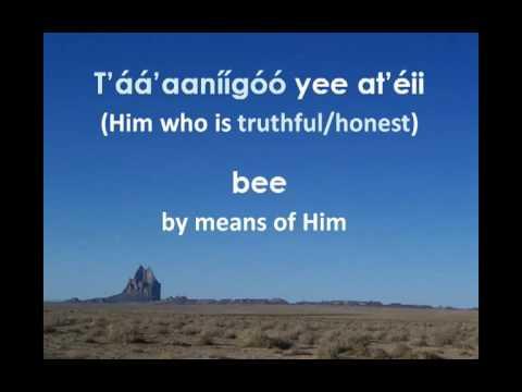 Sweet Hour of Prayer (Navajo Lyrics)