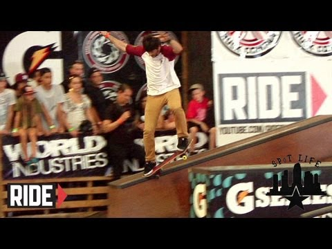 Chris Cole Raw Footage Tampa Pro 2012: SPoT Life Event Check