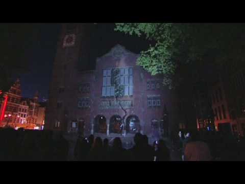 Video of the 3D projection