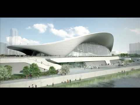 Awesome Projects - Aquatic Centre by Zaha Hadid (London 2012 Olympics)