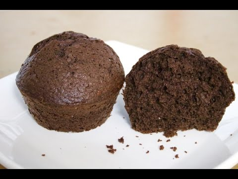 soft moist chocolate cupcake(No music)--Cooking A Dream