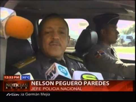 Jefe Policía dice redoblará presencia policial en las calles