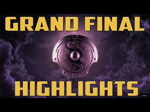 TI4 Grand Final Highlights   Newbee vs Vici Gaming