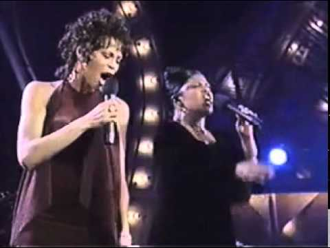 Whitney Houston, CeCe Winans, and Shirley Caesar Medley