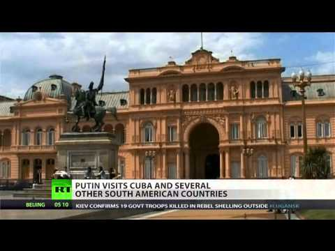 Putin writes off $32 billion of Cuban debt  (Russia)  7/11/14