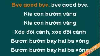 kìa con bướm vàng - karaoke ( only beat )