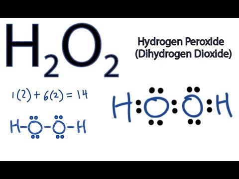 Lewis Structures Shapes H2o2 Lewis Structure How to