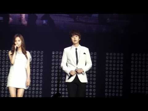 [fancam] SM Town Paris 10.06.2011 - Seohyun &amp; Kyuhyun Way Back Into Love HD